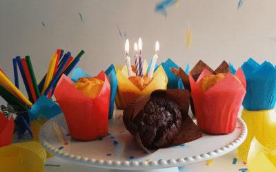 Muffin 30 Anos | Festeje connosco!