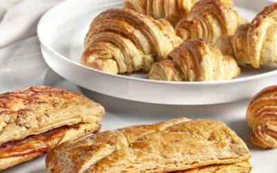Croissants e Lanches de Milho e Girassol
