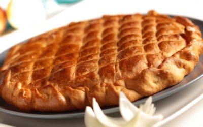 Pão com Cebola e Bacon