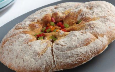 Pão Rústico com Alheira