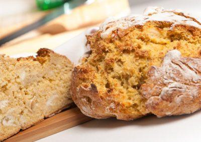 Broa de Milho com Bacalhau
