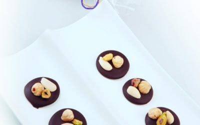 Botões de Chocolate