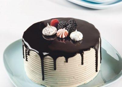 Drip Cake de Alfarroba