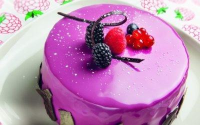 Coloured Cake