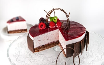 Red Mousse & Chocolate